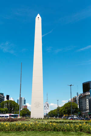 alberto: The Obelisk of Buenos Aires was built in 1936 to celebrate the 400th anniversary of the city founding Alberto Prebisch