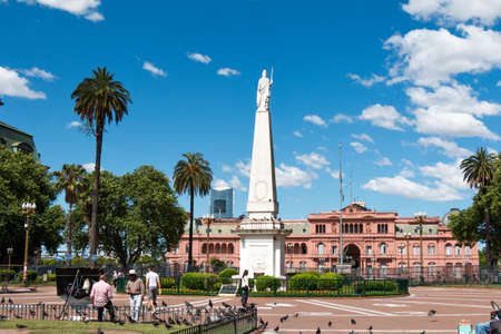 Casa Rosada Pink House seat of government of Argentina, Buenos Aires Argentina