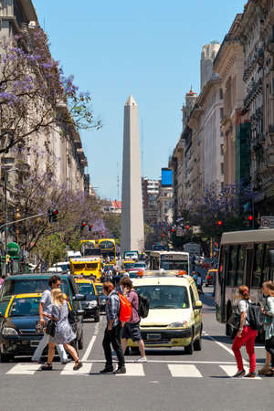 founding: The Obelisk of Buenos Aires was built in 1936 to celebrate the 400th anniversary of the city founding Alberto Prebisch