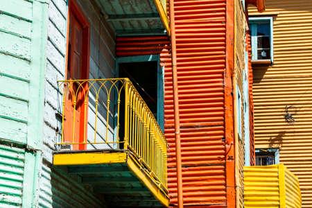 la boca: Historic colorful neighborhood La Boca, Buenos Aires Argentine