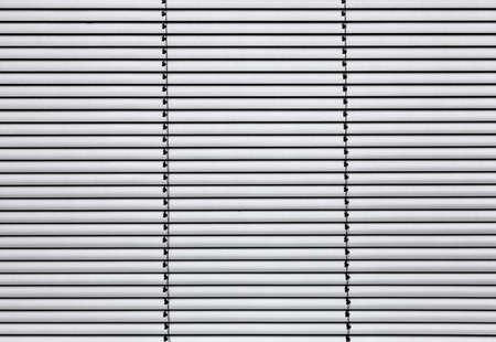 Aluminium blanc mini-aveugle comme motif de fond Banque d'images