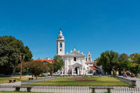 evita: Historic cemetery Recoleta (Basilica nuestra Se�? ? ora del Pilar), Buenos Aires Argentine Stock Photo