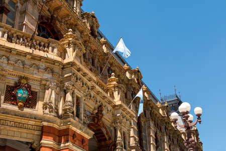 live work city: The historic Water Company Palace (Palacio de Aguas Corrientes), Buenos Aires Argentine Editorial
