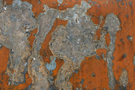 malfunction: abstract texture of rusted metal in Different Colors