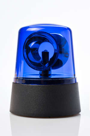 Blue light for fire department, ambulance, ambulance or police Imagens
