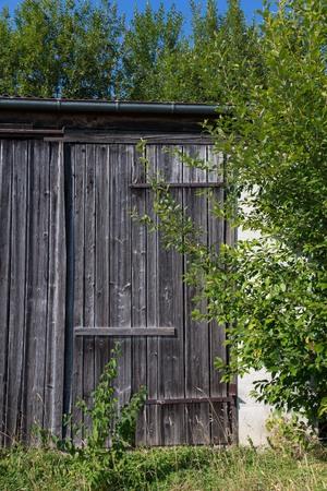 Old barn in sunshine