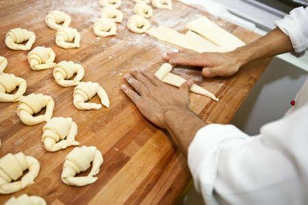 hands of a baker