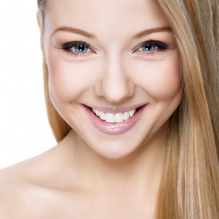 Beautiful smiling blonde
