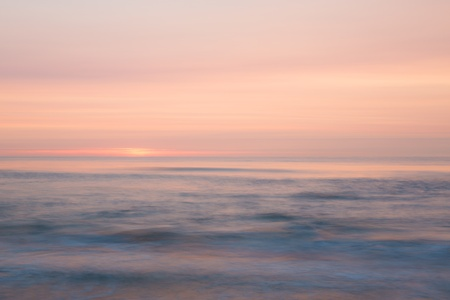horizont: Sunset over the sea