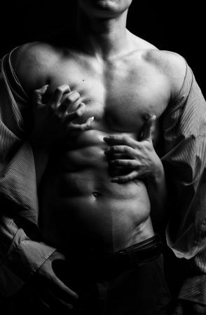 sensuel: femme de passion et de l'homme