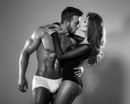 Passion woman and man photo