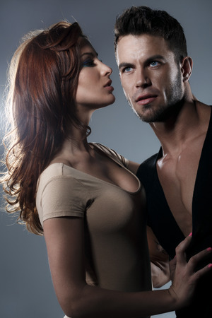 Passion woman and man  Standard-Bild