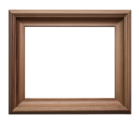 Picture frame on a white background  Foto de archivo