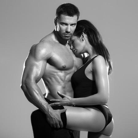 Passionate couple photo