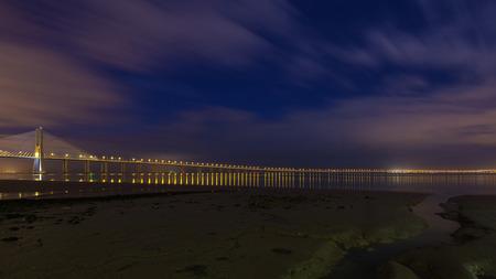 longest: Vasco da Gama Bridge in Lisbon. The longest bridge in Europe