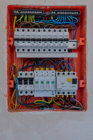 Electric box with fuses
