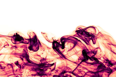 chaotic: abstract chaotic red background with copyspace (white) above Stock Photo