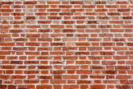 paredes de ladrillos: Antecedentes de la pared de ladrillo de cerca Foto de archivo