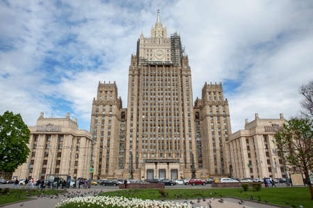 ministry: Ministry of Foreign Affairs buiding in Moscow, Russia