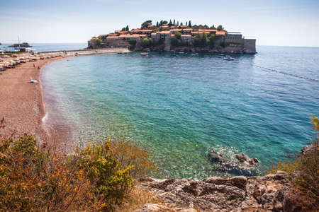 St. Stephen's Island in the Adriatic Sea.