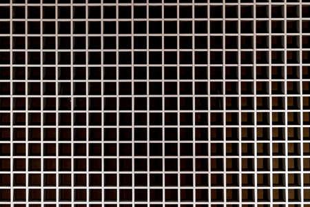 metal mesh background on the dark