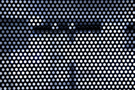 black metal texture. blank for designers. round lattice