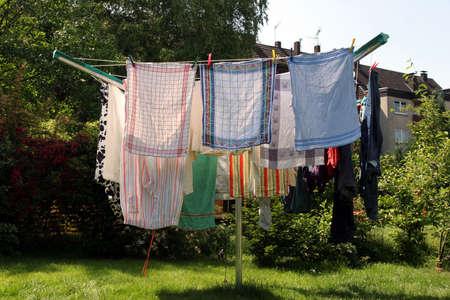 clothes horse photo