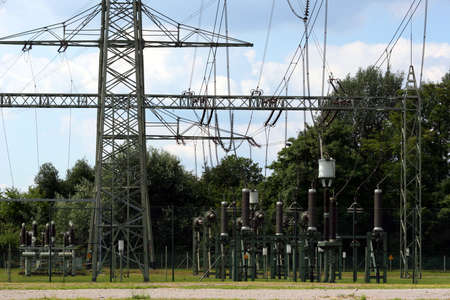 land management: About the lines in the power generated electricity distributed.