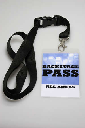 For the stage area you only get a backstage pass access. Stock Photo