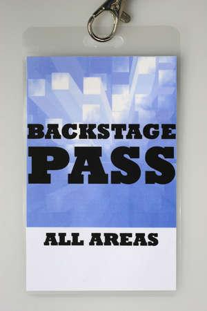 Dla obszaru etapie można dostać tylko backstage pass dostępu.