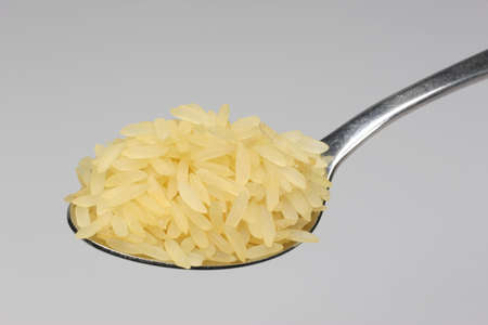staple food: Rice is the staple food in many countries. Stock Photo