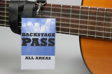 For the stage area you only get a backstage pass access. Stock Photo - 6432385