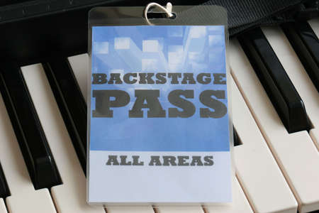 For the stage area you only get a backstage pass access. Stock Photo - 6432378