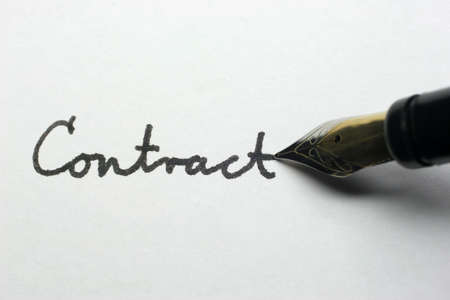 concluded: A contract is an agreement concluded by two ore more people.
