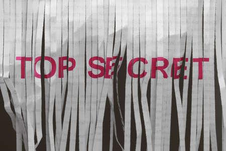 W celu utrzymania tajemnice wymagajÄ… już dokumentów, które majÄ… być zniszczone. Zdjęcie Seryjne