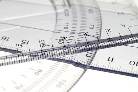A ruler is an important tool for drawing and designing. Stock Photo - 8244174