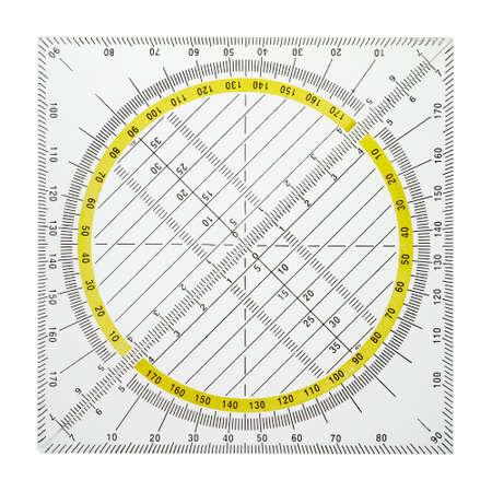 Triángulos geométricos son necesarios para dibujo precisa en la escuela y en el trabajo. Foto de archivo - 8720927