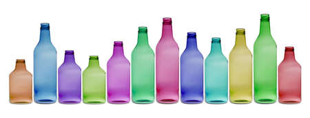 Bottles are needed to pack drinks safe. photo