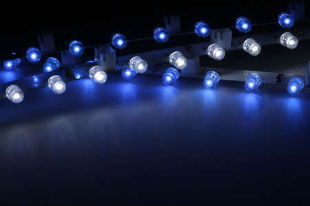 With LEDs can be very interesting light effects are produced. Stock Photo - 9094451