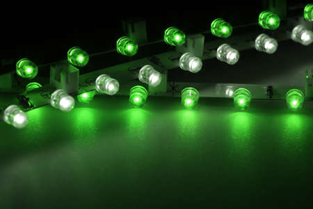 led lighting: With LEDs can be very interesting light effects are produced.