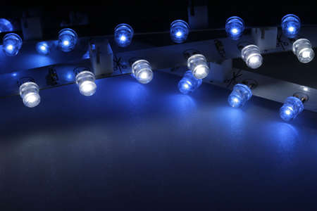 With LEDs can be very interesting light effects are produced. photo