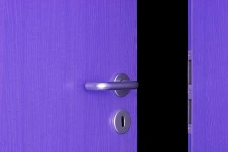 doorlock: A door is a gap wide open.