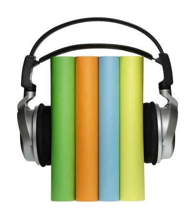 you can: Con los auriculares se puede escuchar algunas buenas historias.