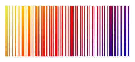 With a bar code can be identified things. Stock Photo
