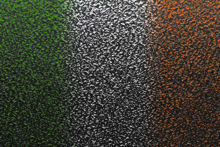 On a metal surface is made by colored light a national flag Stock Photo - 12672881