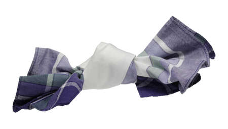 Not to forget anything, some people make a knot in the handkerchief