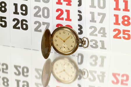 timepieces: Days, weeks and months are clearly arranged on calendar sheets