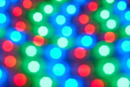 LED strip with red, green and blue LEDs  photo