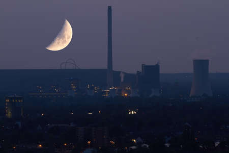 powerplant: About a powerplant is the bright moon.