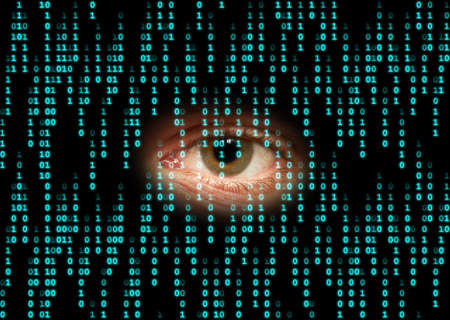 big brother spy: Sent data in cyberspace Can Be Observed.